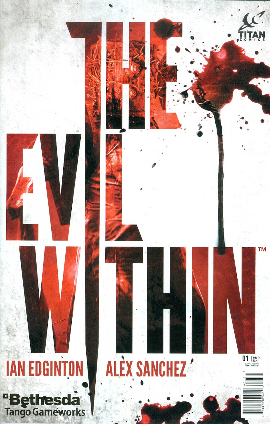 Evil Within #1 Cover B Variant Video Game Cover