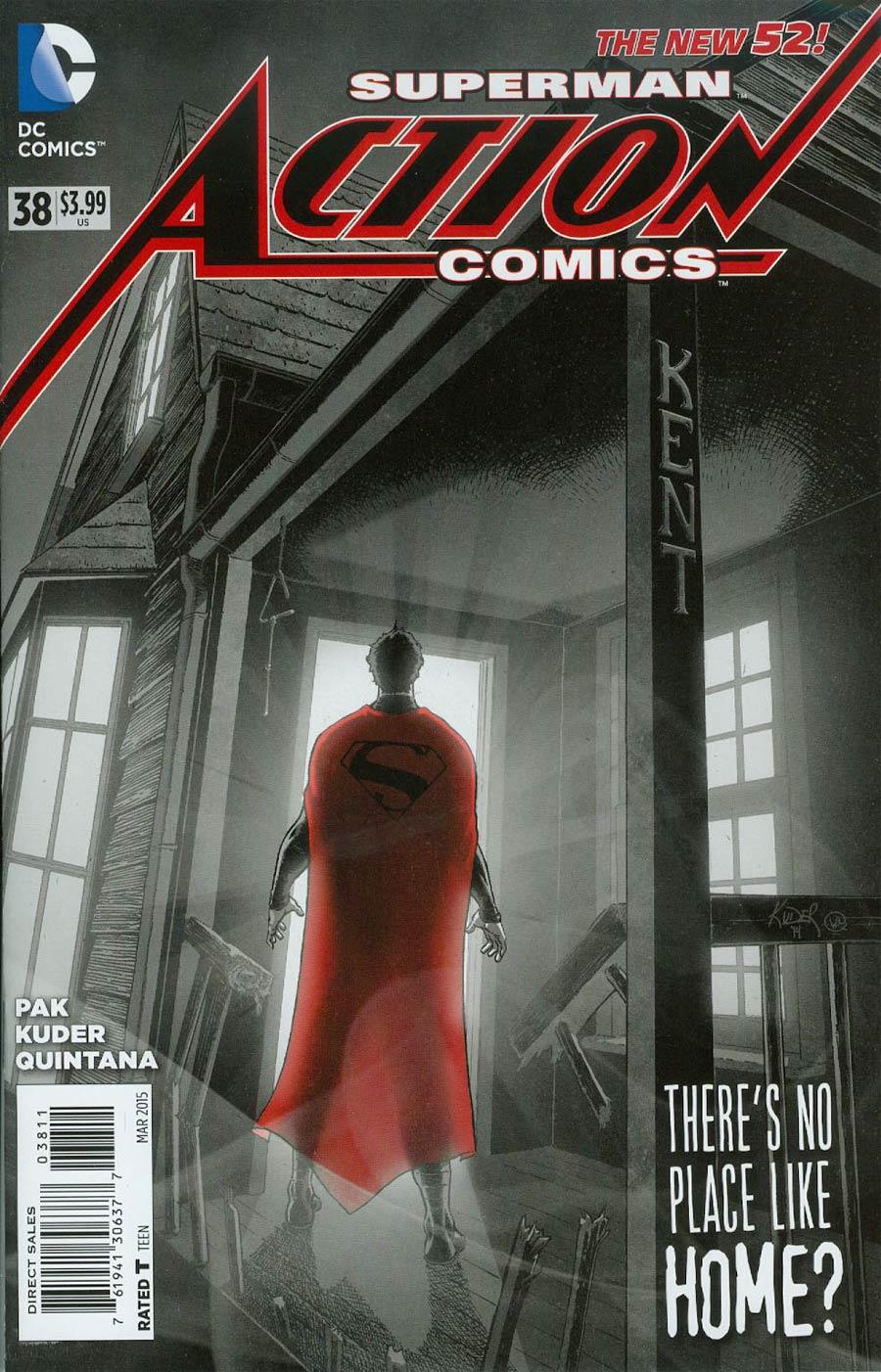 Action Comics Vol 2 #38 Cover A Regular Aaron Kuder Cover