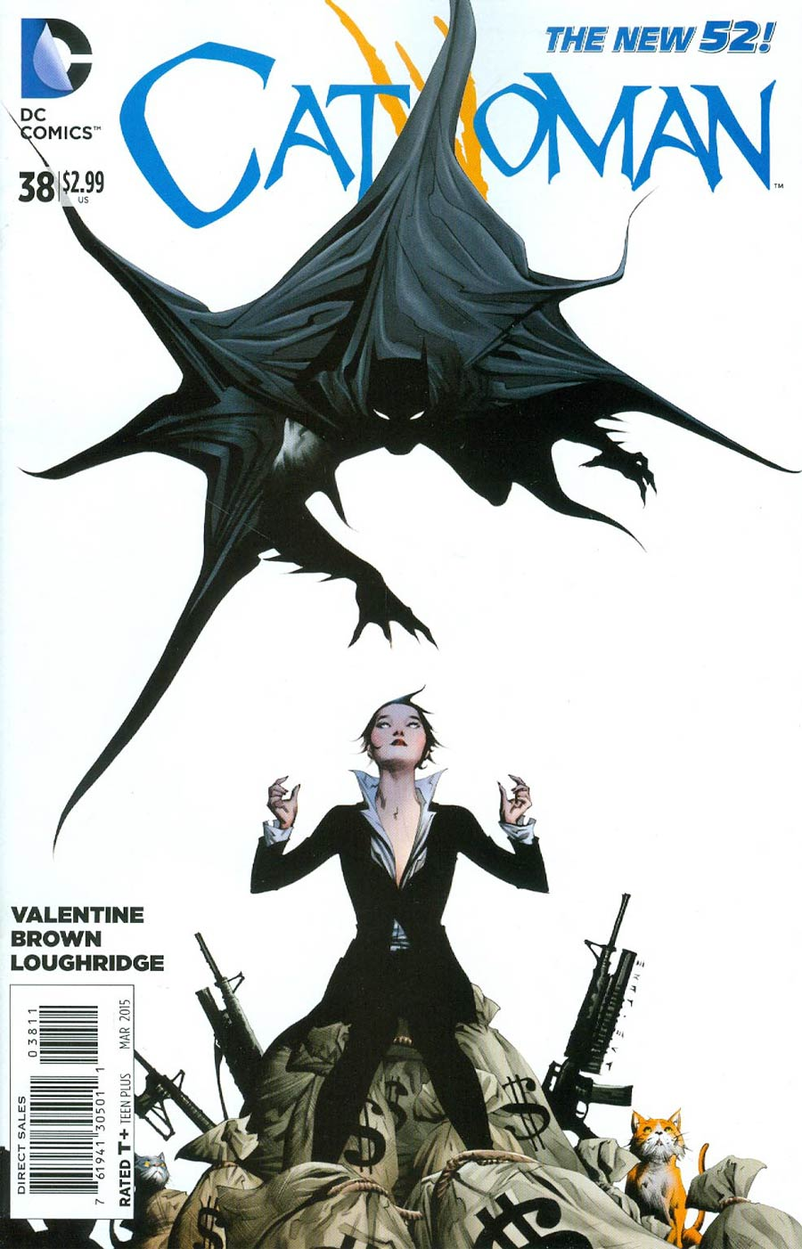 Catwoman Vol 4 #38 Cover A Regular Jae Lee Cover