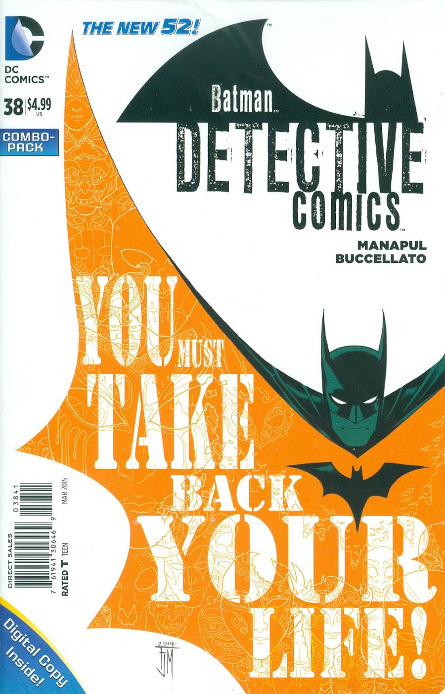 Detective Comics Vol 2 #38 Cover C Combo Pack With Polybag