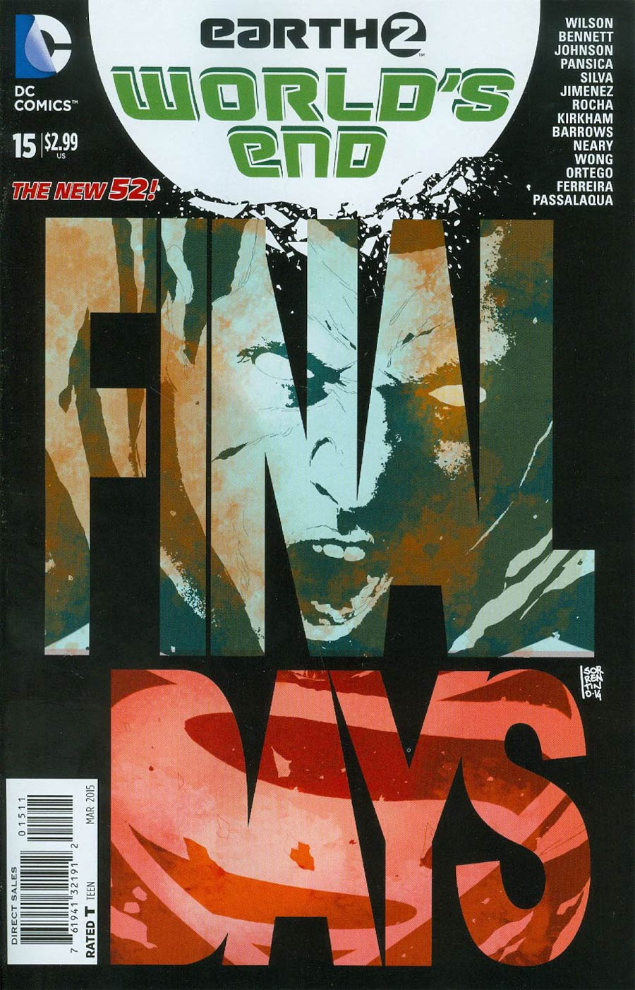 Earth 2 Worlds End #15