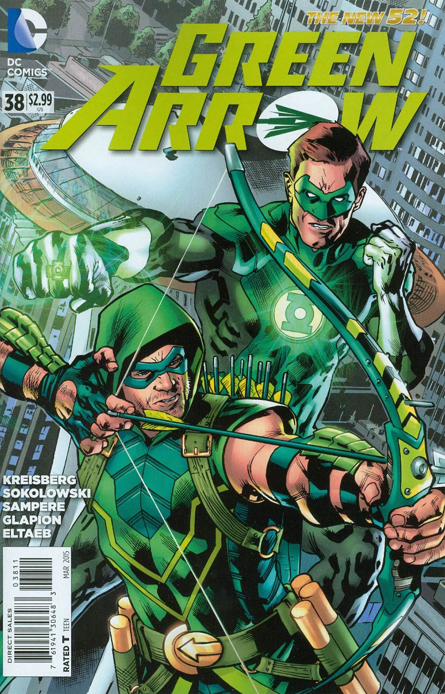 Green Arrow Vol 6 #38