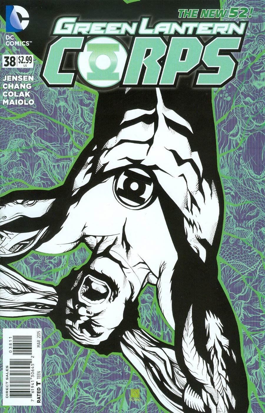 Green Lantern Corps Vol 3 #38 Cover A Regular Bernard Chang Cover