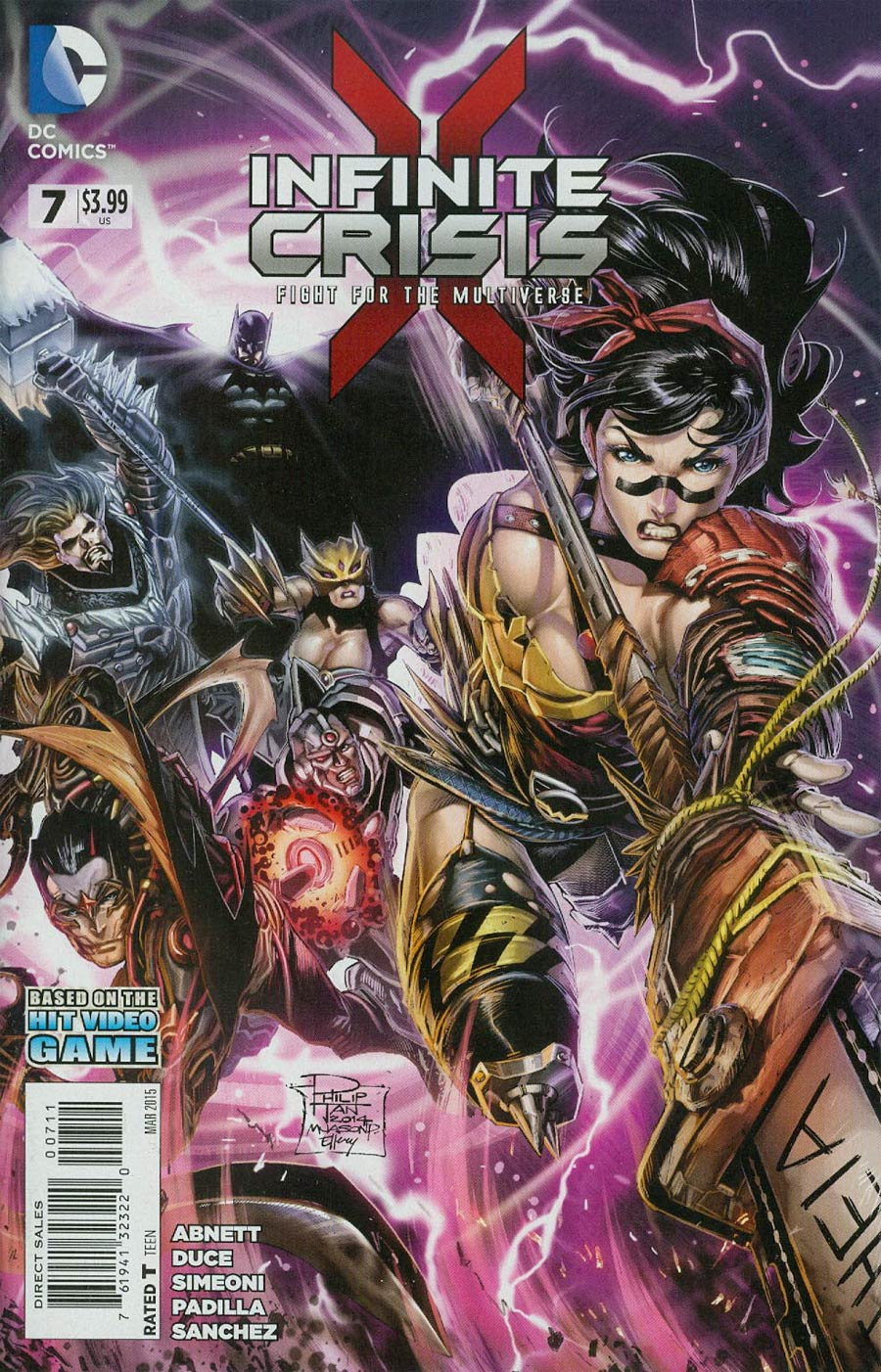 Infinite Crisis Fight For The Multiverse #7