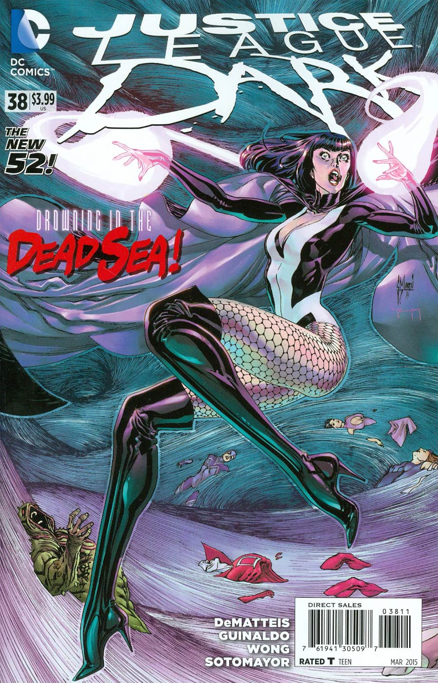 Justice League Dark #38 Cover A Regular Guillem March Cover