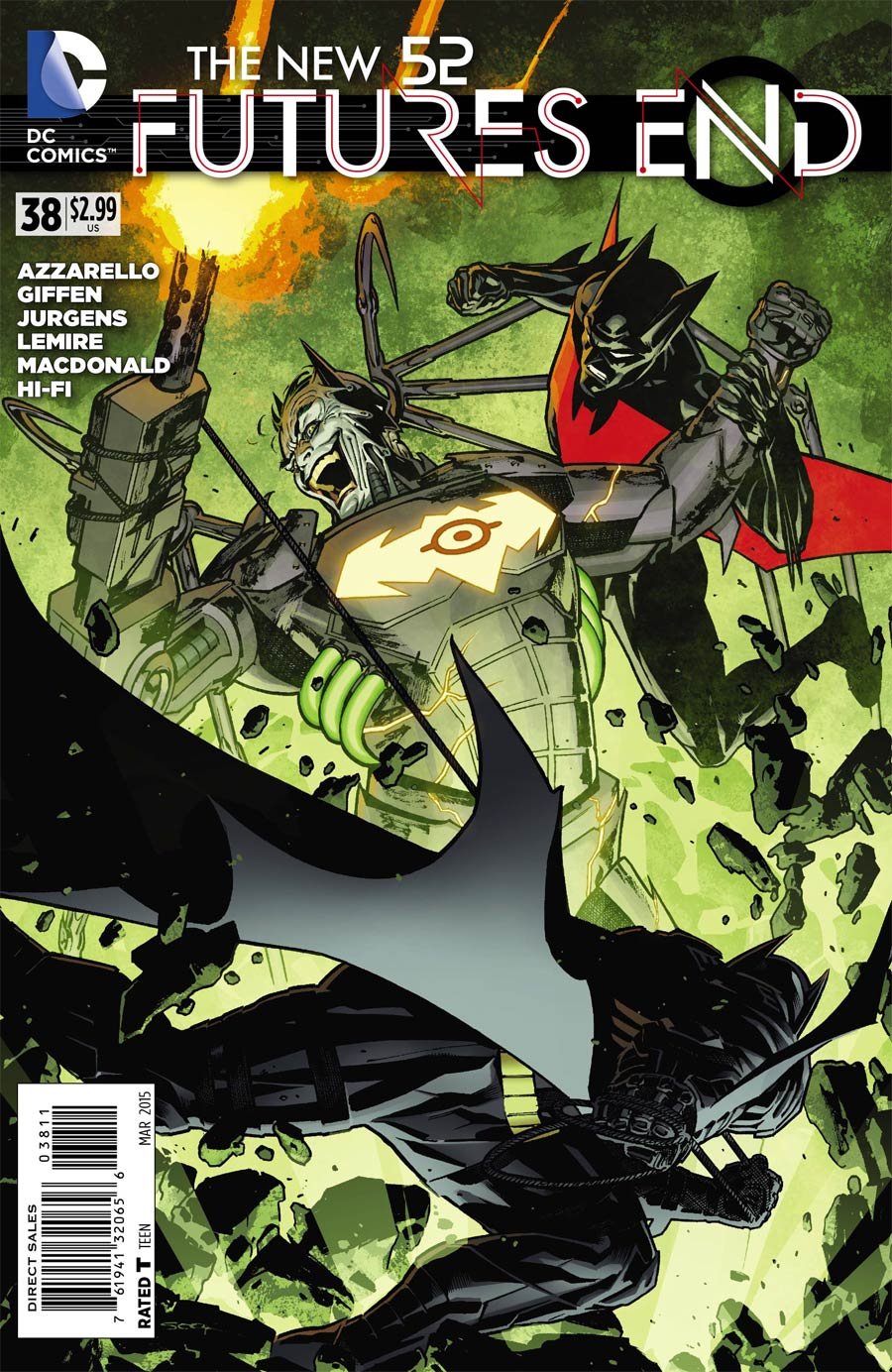 New 52 Futures End #38