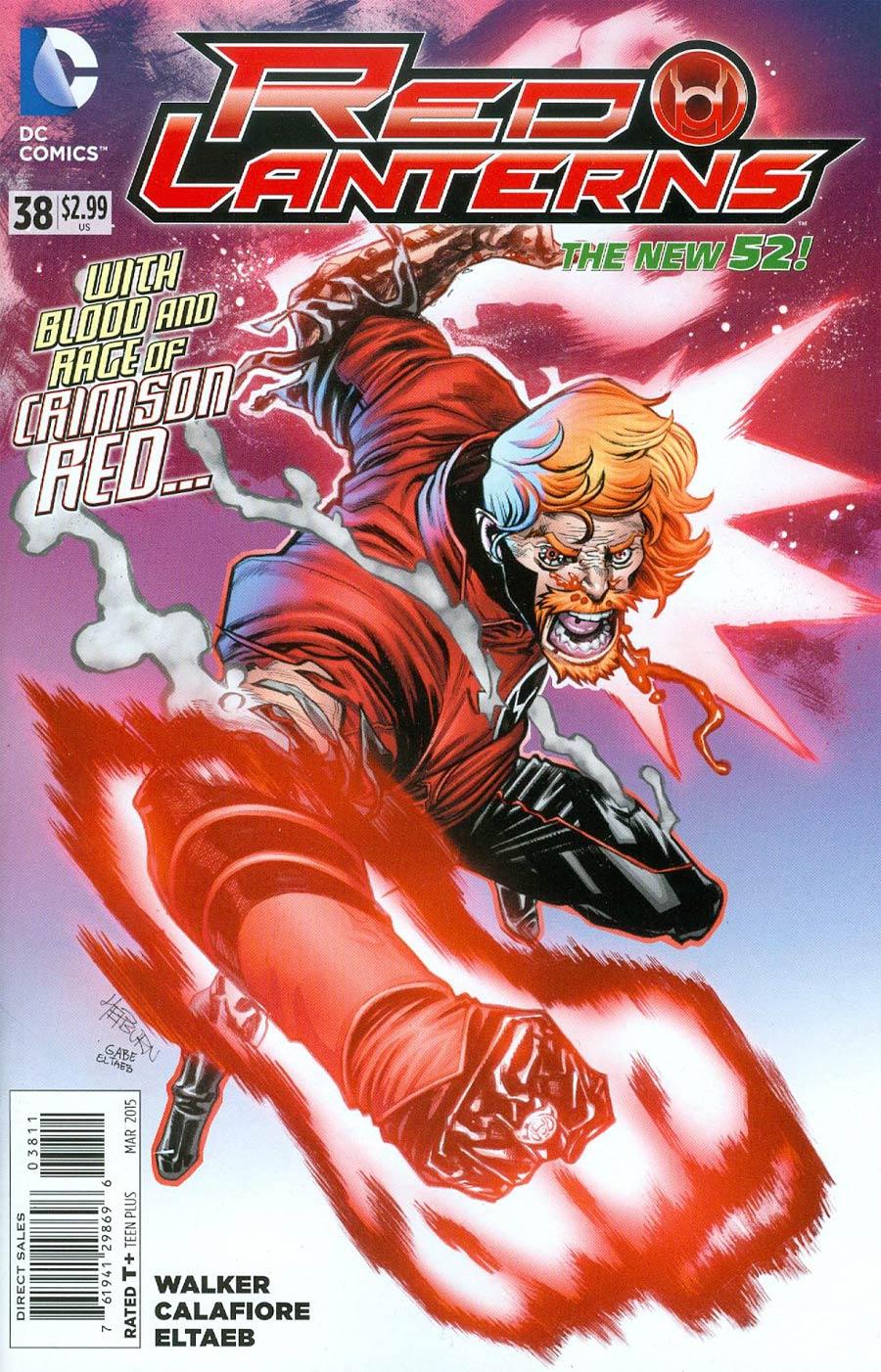 Red Lanterns #38