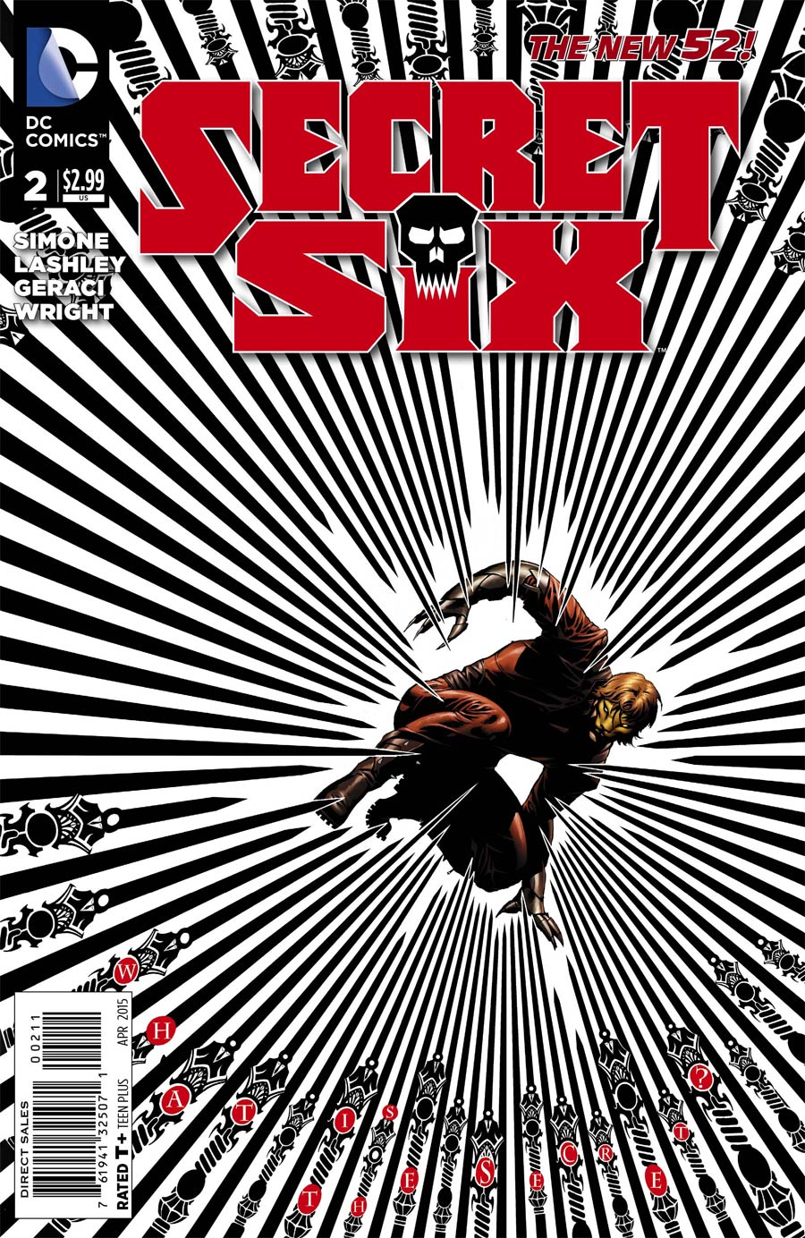 Secret Six Vol 4 #2 Cover A Regular Dale Eaglesham Cover