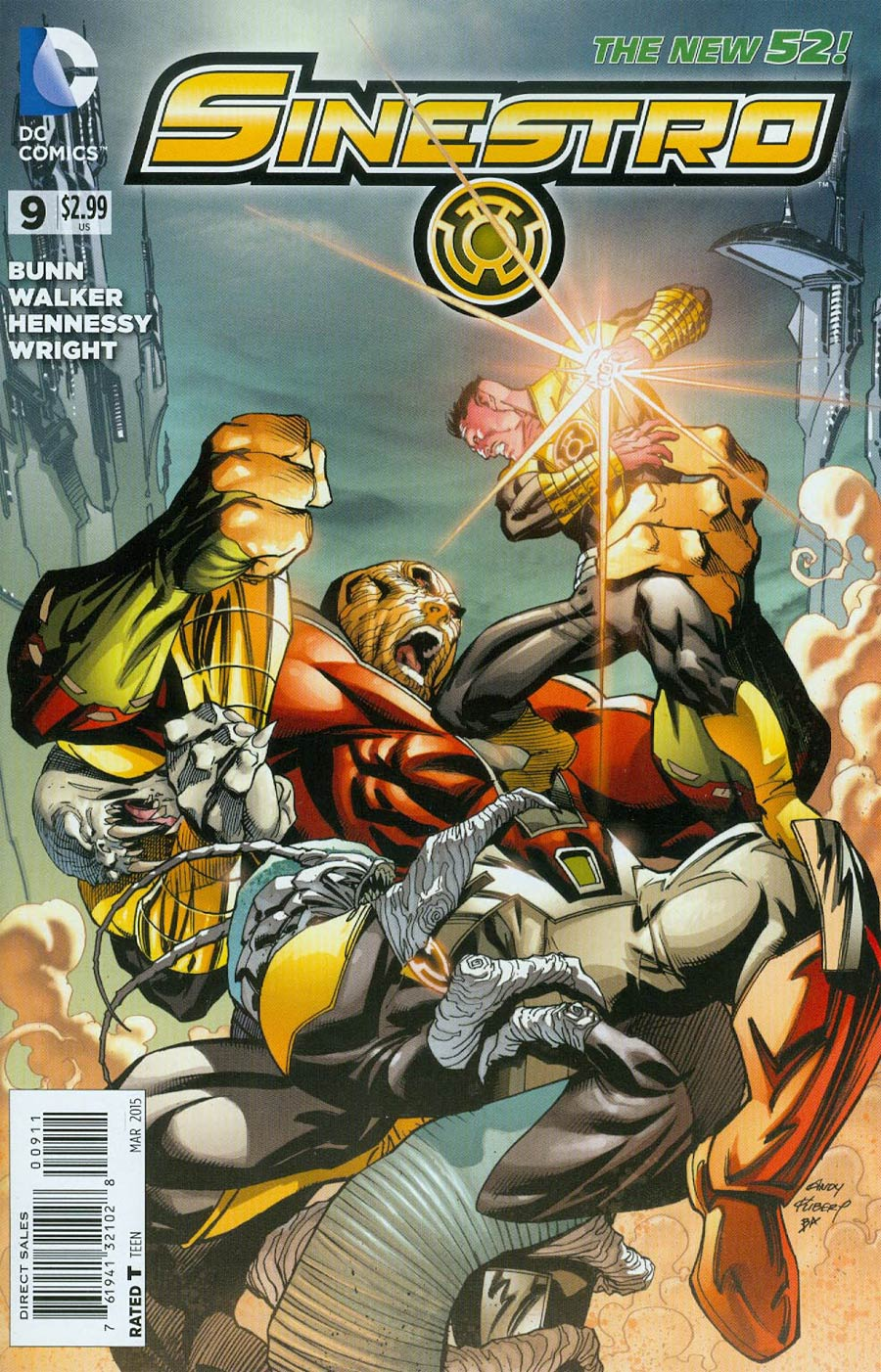 Sinestro #9 Cover A Regular Andy Kubert Cover