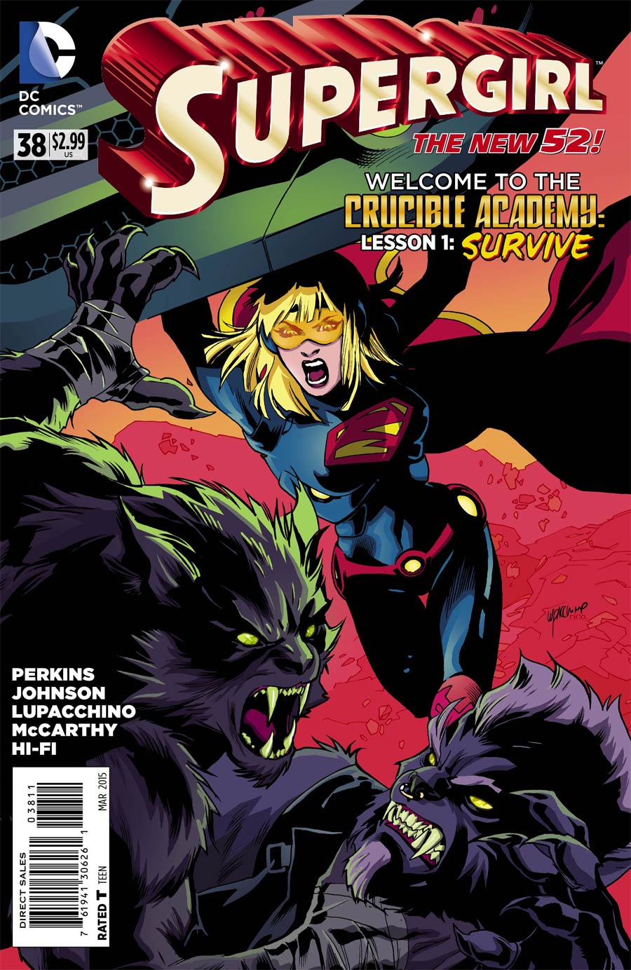 Supergirl Vol 6 #38 Cover A Regular Emanuela Lupacchino Cover