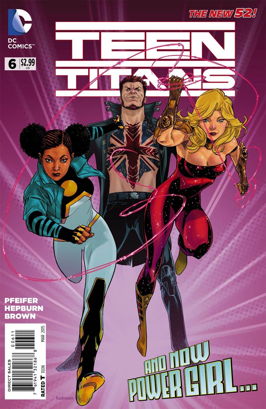 Teen Titans Vol 5 #6 Cover A Regular Kalman Andrasofszky Cover
