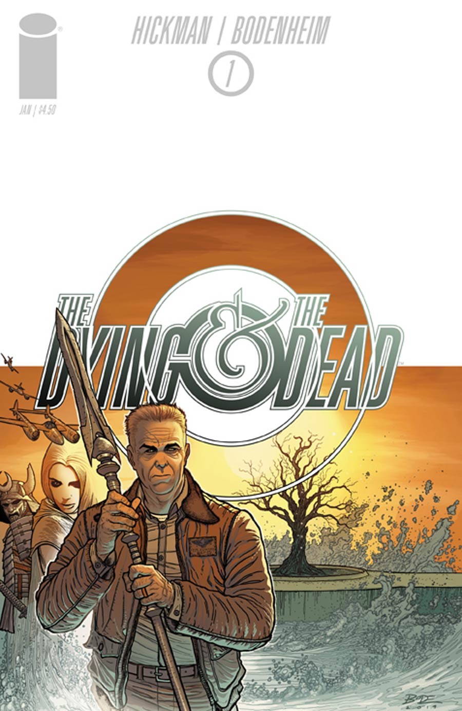 Dying And The Dead #1 Cover A 1st Ptg