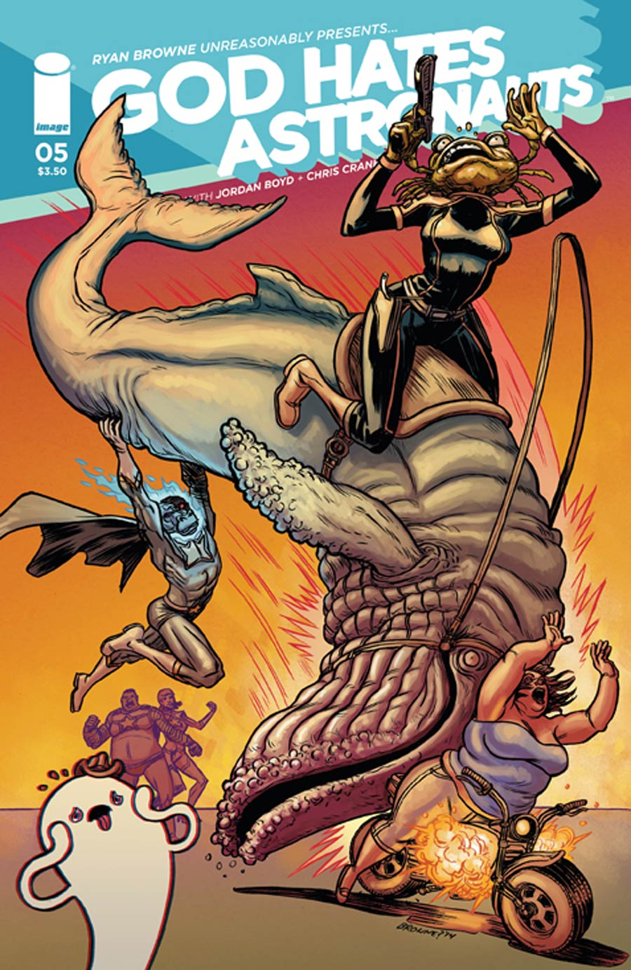God Hates Astronauts #5 Cover A Ryan Browne