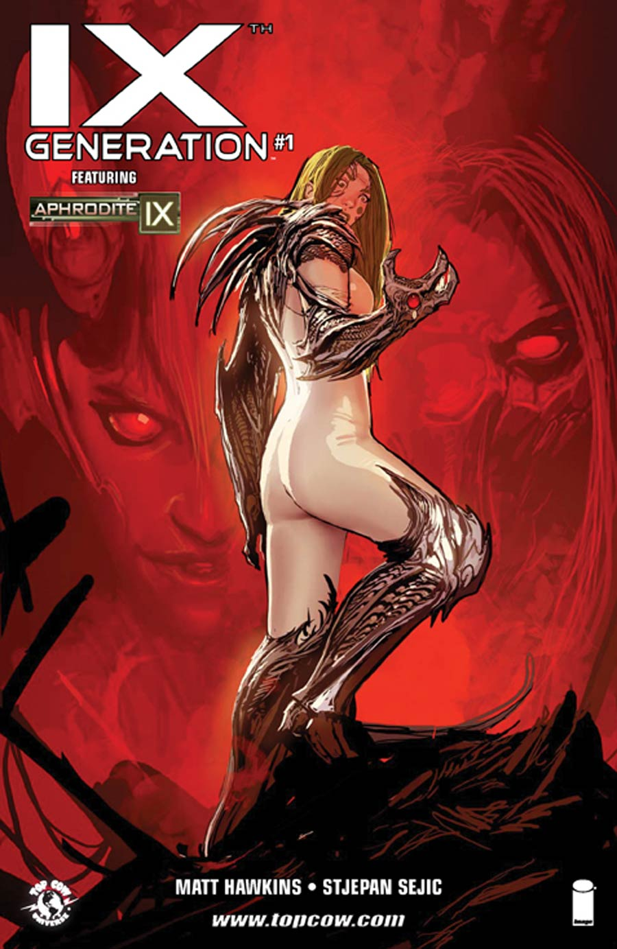 IXth Generation #1 Cover A Regular Stjepan Sejic Cover