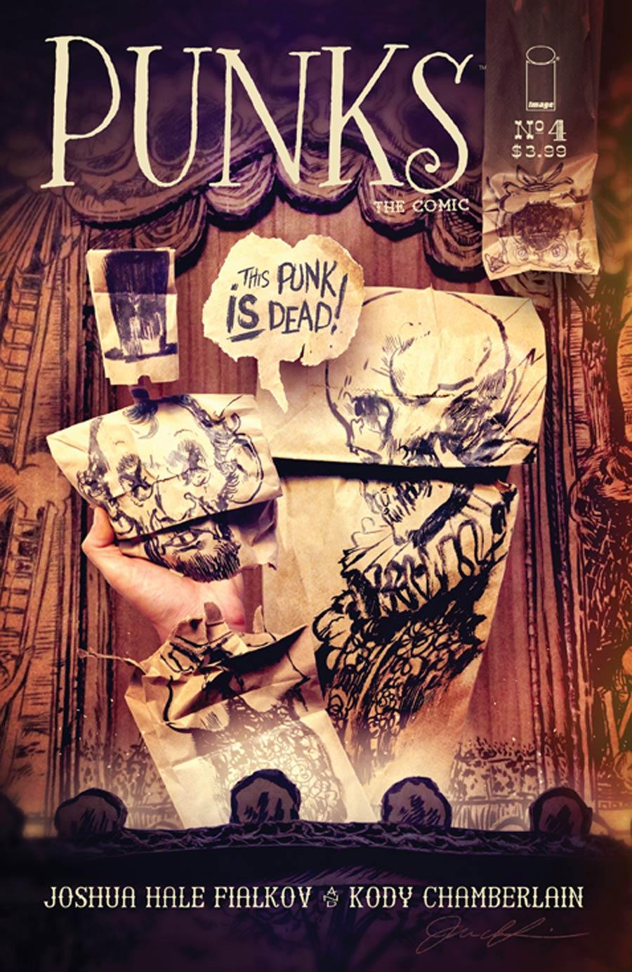 Punks The Comic #4 Cover B Joey Infurnari