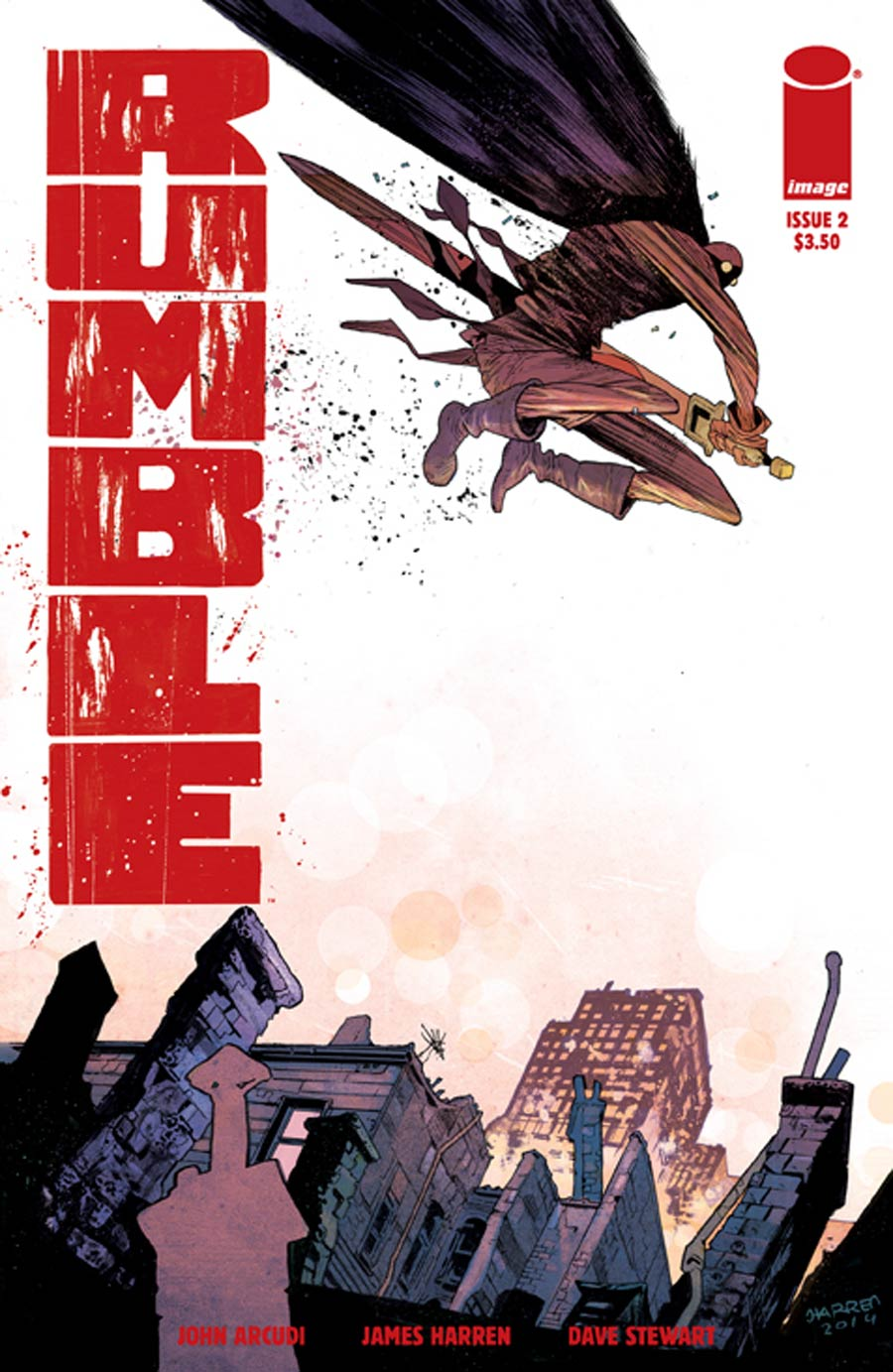 Rumble #2 Cover A 1st Ptg
