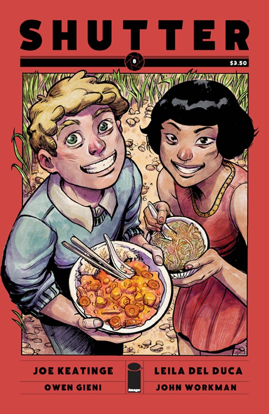 Shutter #8 Cover A Owen Gieni & Leila Del Duca