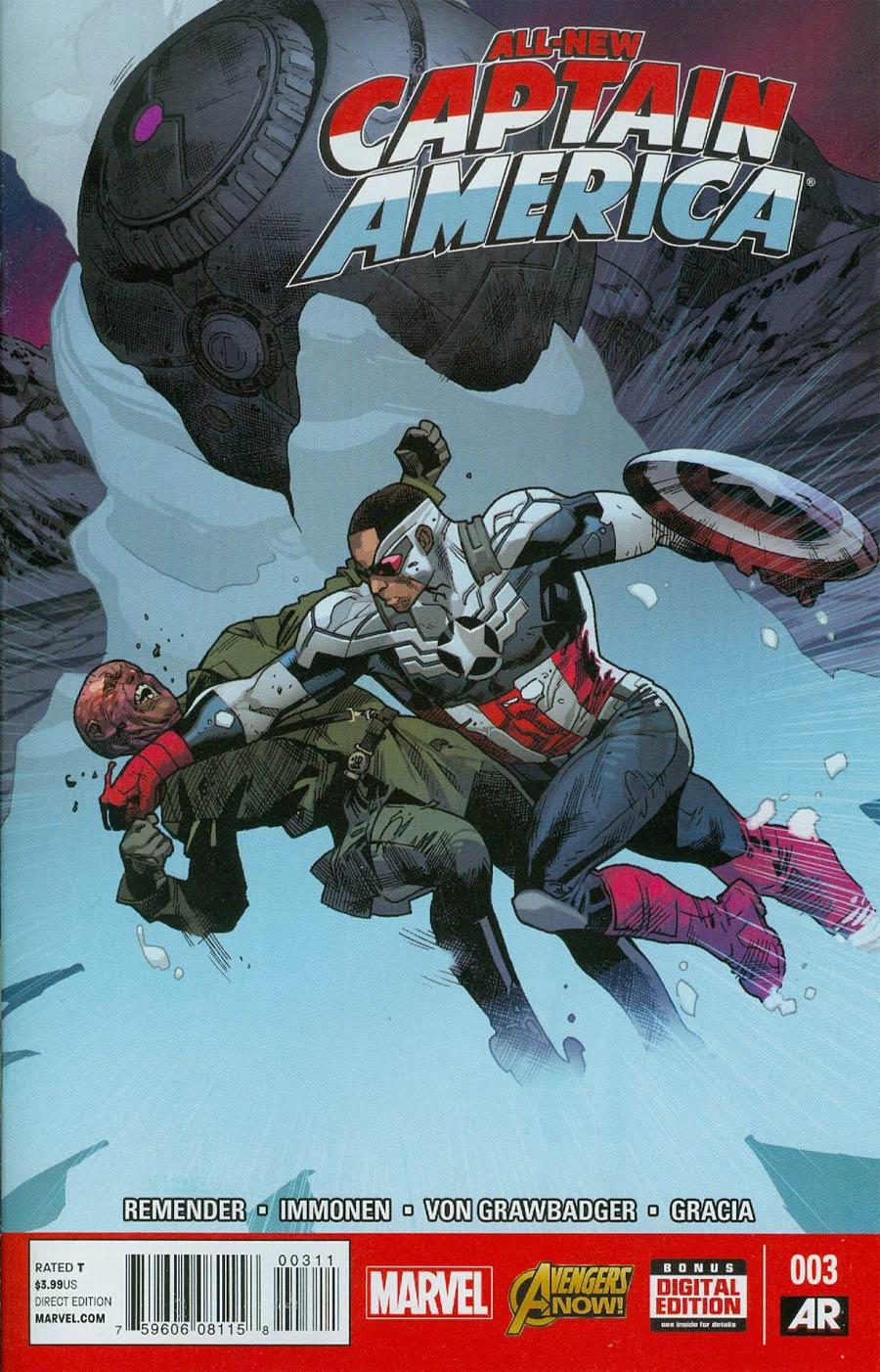 All-New Captain America #3 Cover A Regular Stuart Immonen Cover