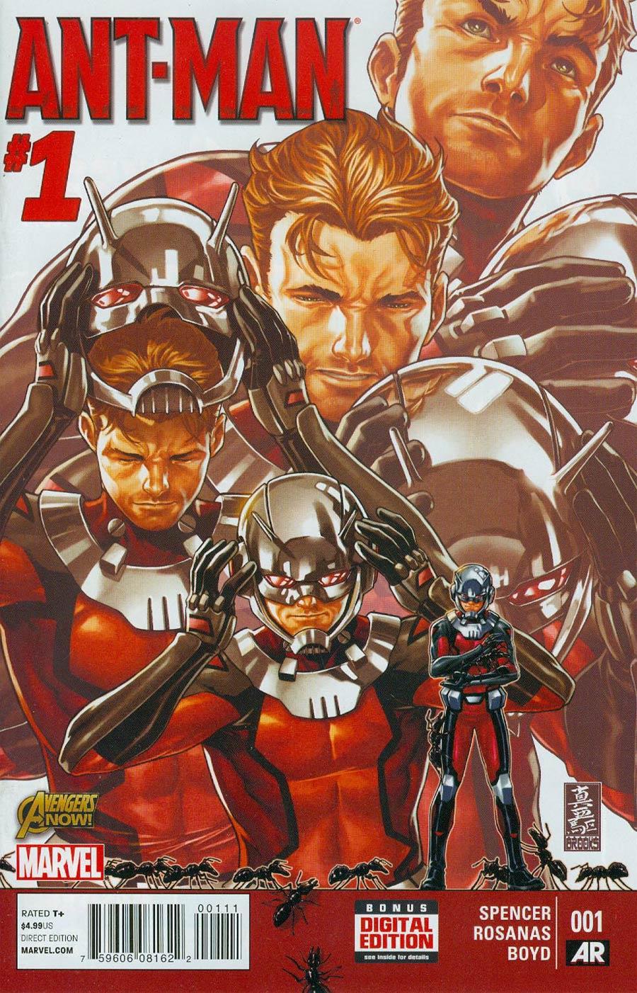 Ant-Man #1 Cover A 1st Ptg Regular Mark Brooks Cover