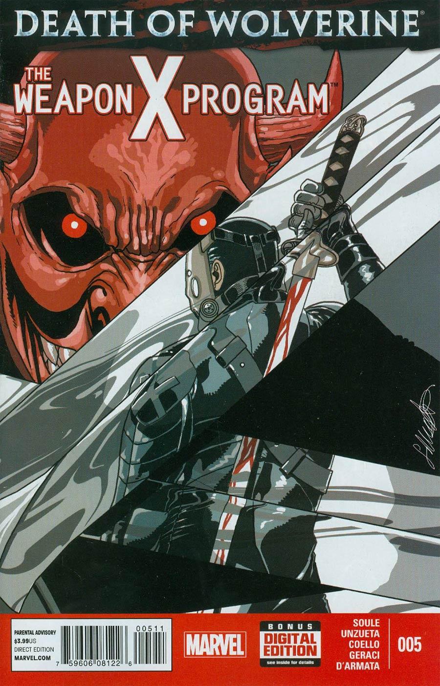 Death Of Wolverine Weapon X Program #5