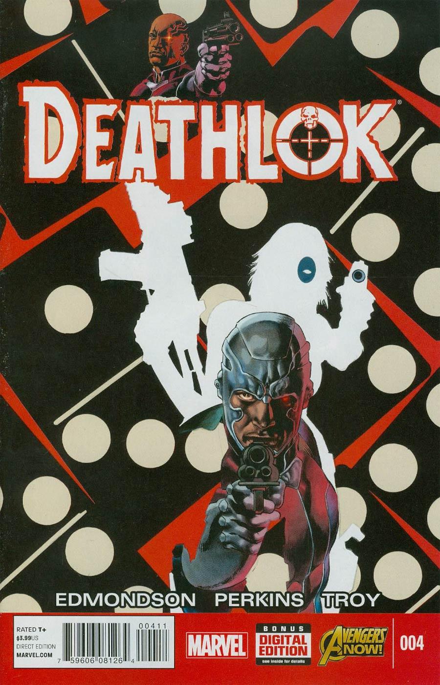 Deathlok Vol 5 #4 Cover A Regular Mike Perkins Cover