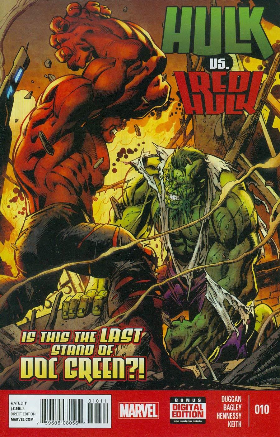 Hulk Vol 3 #10 Cover A Regular Mark Bagley Cover