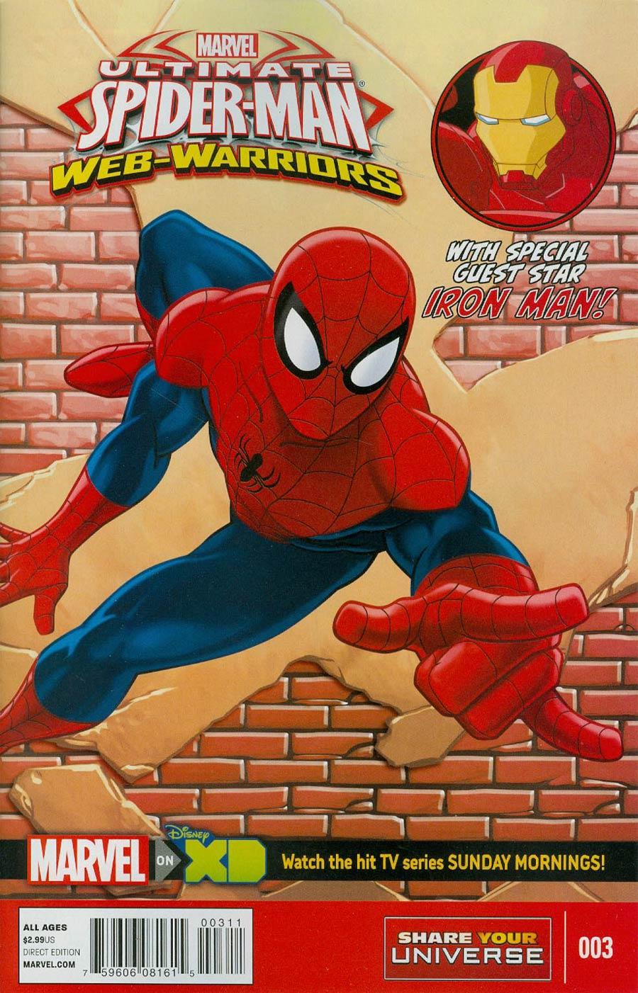 Marvel Universe Ultimate Spider-Man Web Warriors #3