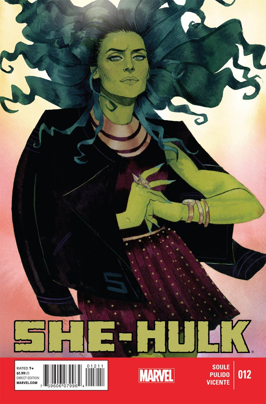 She-Hulk Vol 3 #12 Cover A Regular Kevin Wada Cover