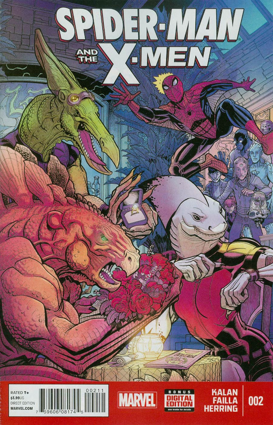 Spider-Man And The X-Men #2 Cover A Regular Nick Bradshaw Cover