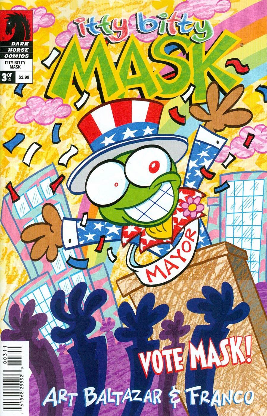 Itty Bitty Comics The Mask #3