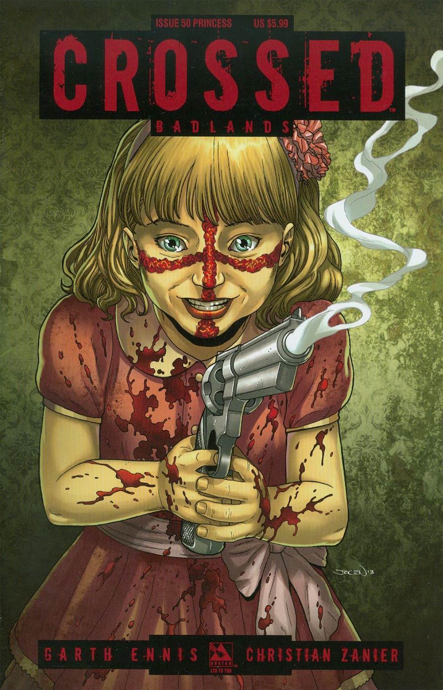 Crossed Badlands #50 Cover O Princess Cover