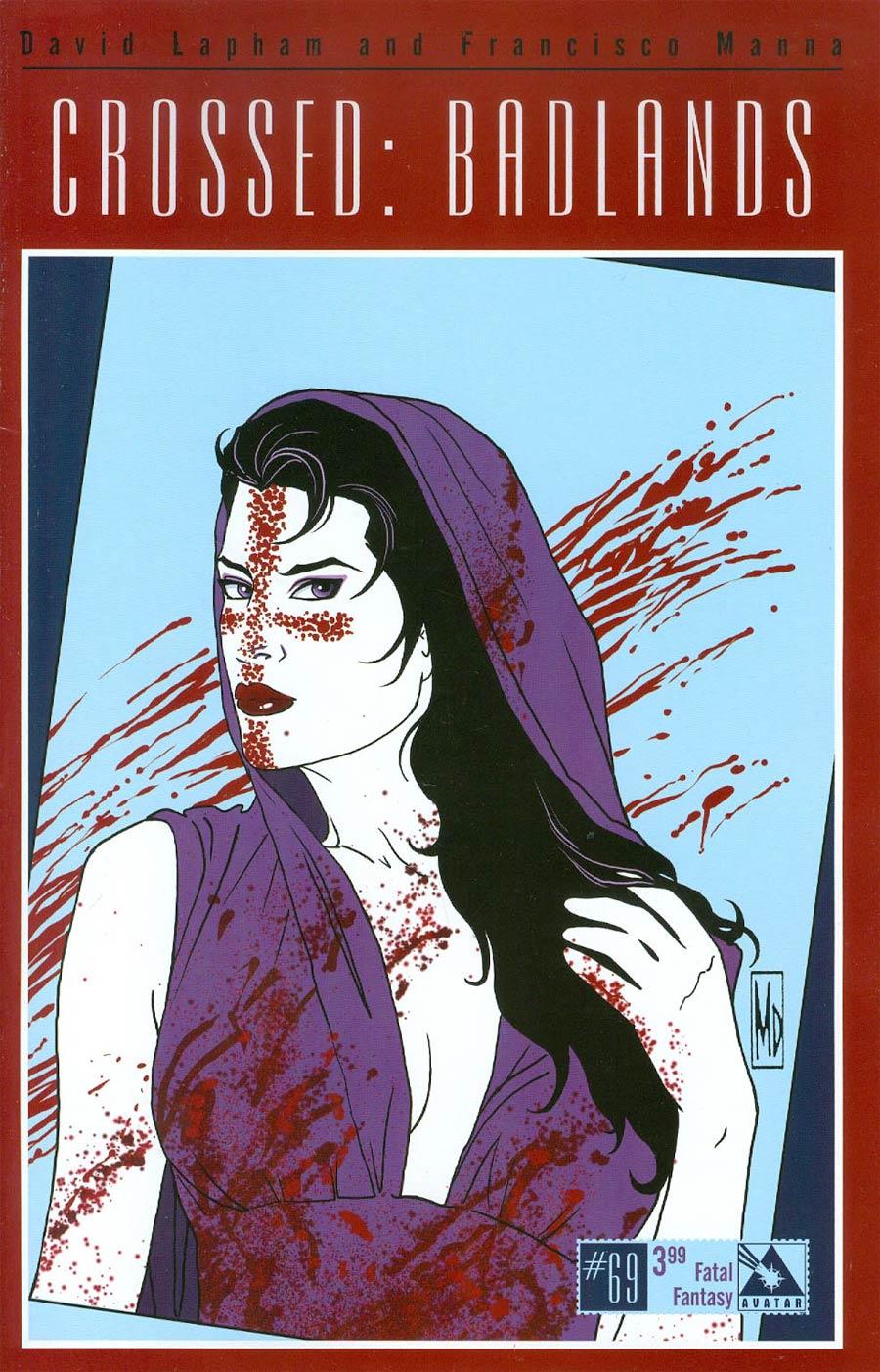 Crossed Badlands #69 Cover D Fatal Fantasy Cover