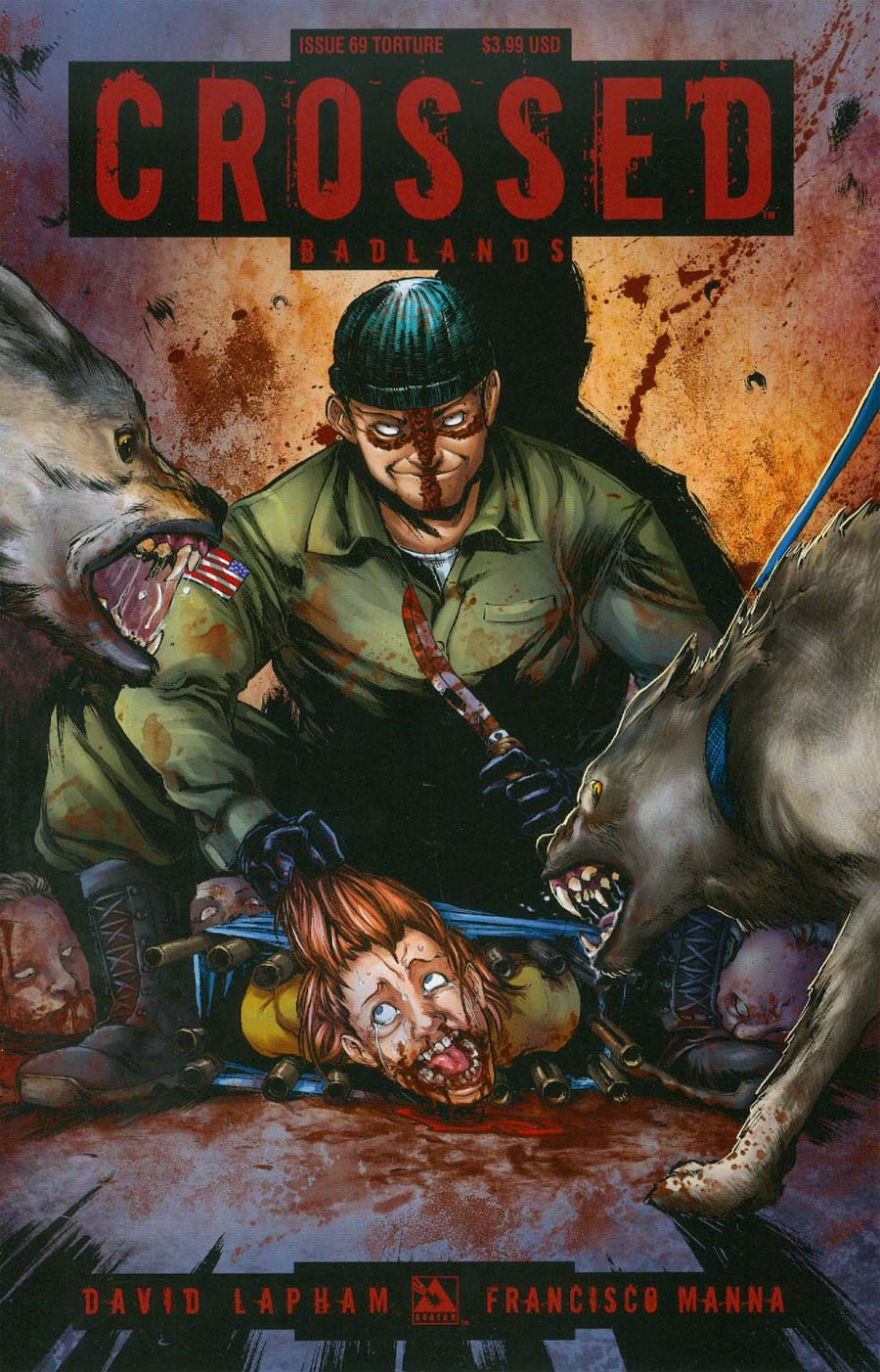 Crossed Badlands #69 Cover C Torture Cover