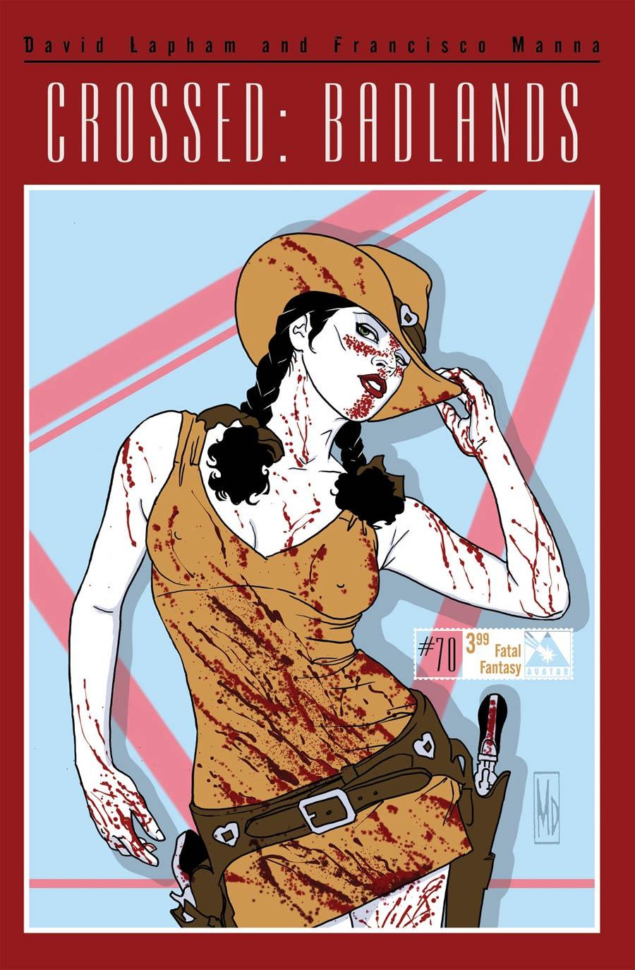 Crossed Badlands #70 Cover D Fatal Fantasy Cover