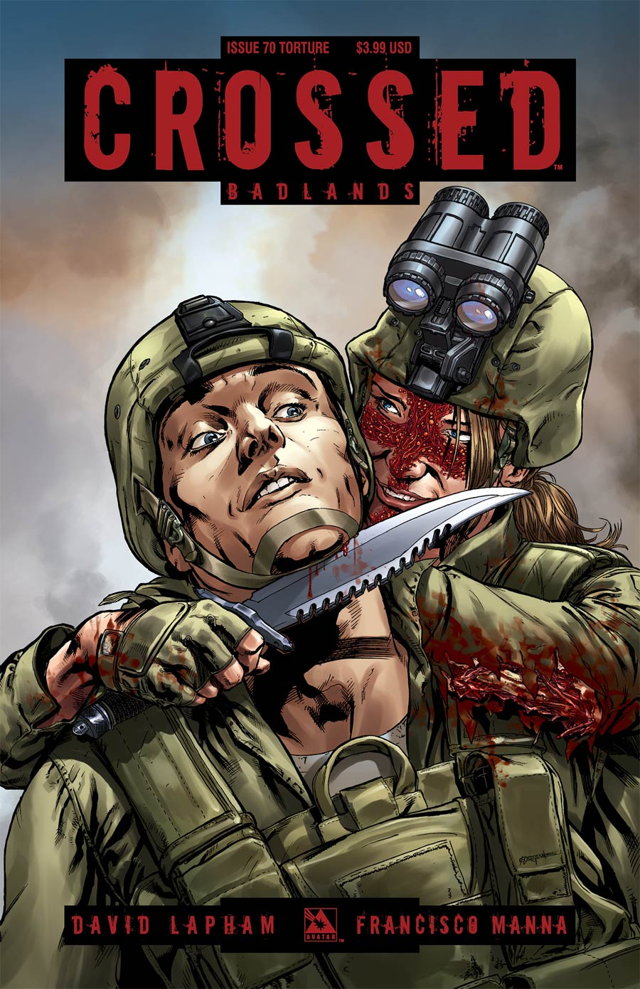 Crossed Badlands #70 Cover C Torture Cover