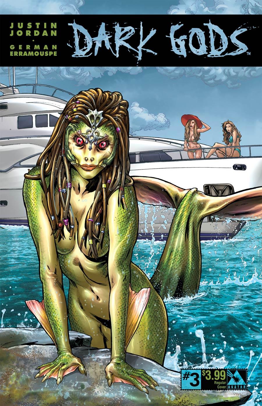 Dark Gods #3 Cover A Regular Cover