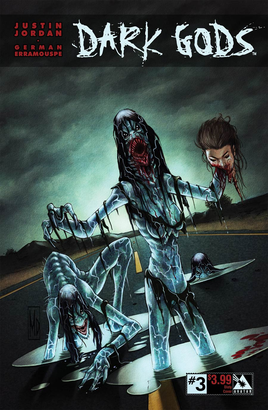 Dark Gods #3 Cover D Deity Cover