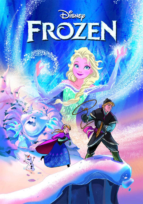 Disneys Frozen Adaptation #1 Cover A 1st Ptg