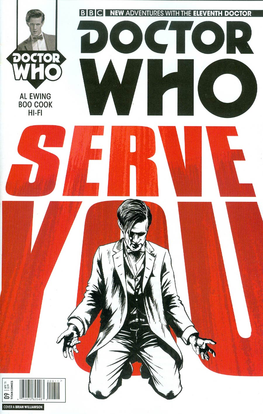Doctor Who 11th Doctor #9 Cover A Regular Brian Williamson Cover