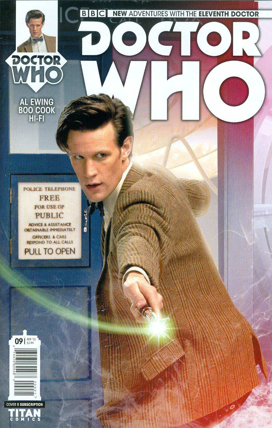 Doctor Who 11th Doctor #9 Cover B Variant Photo Subscription Cover