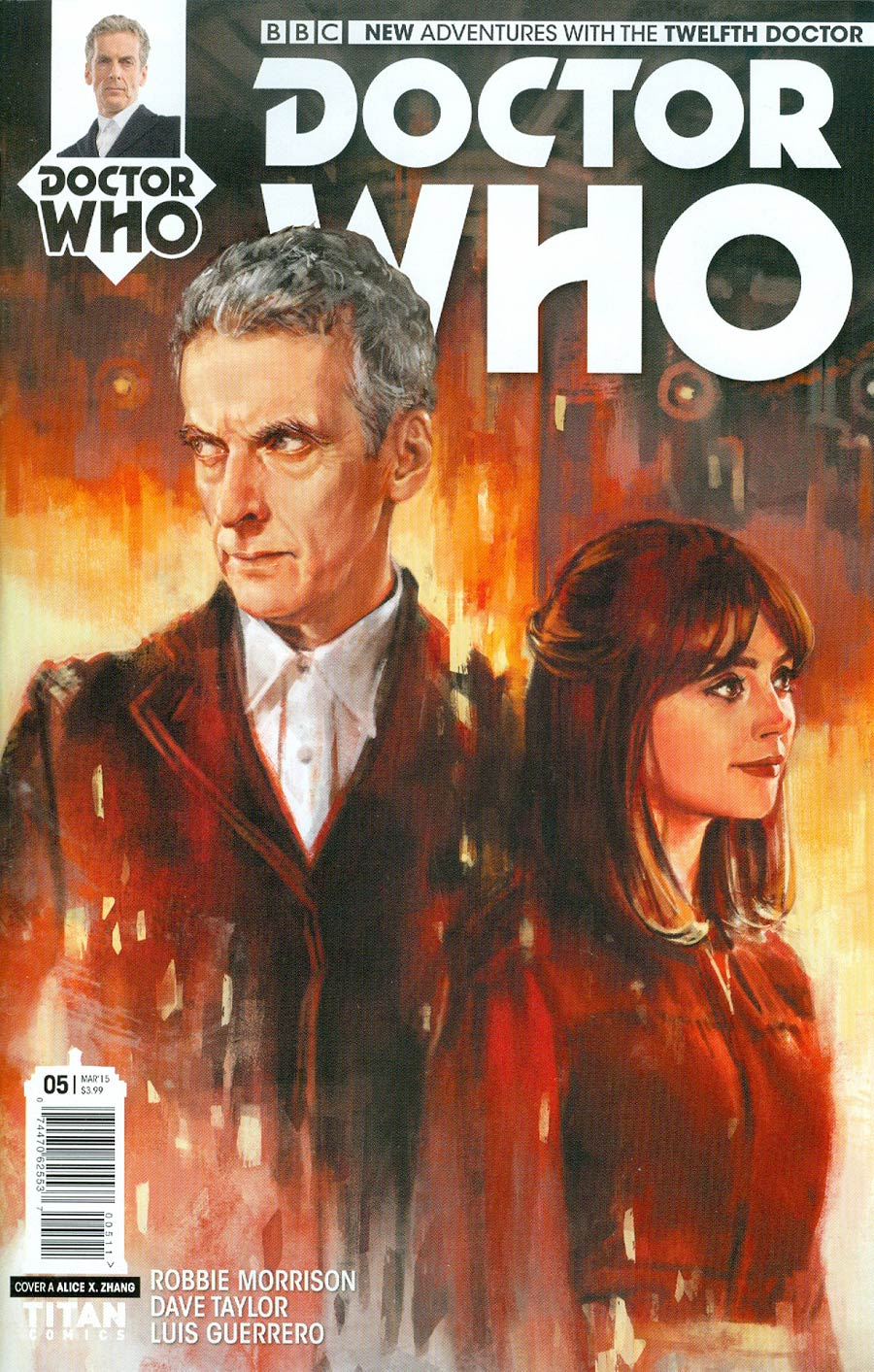 Doctor Who 12th Doctor #5 Cover A Regular Alice X Zhang Cover