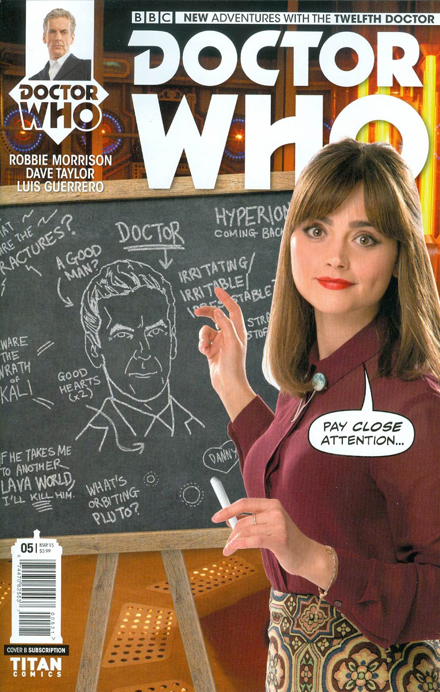 Doctor Who 12th Doctor #5 Cover B Variant Photo Subscription Cover