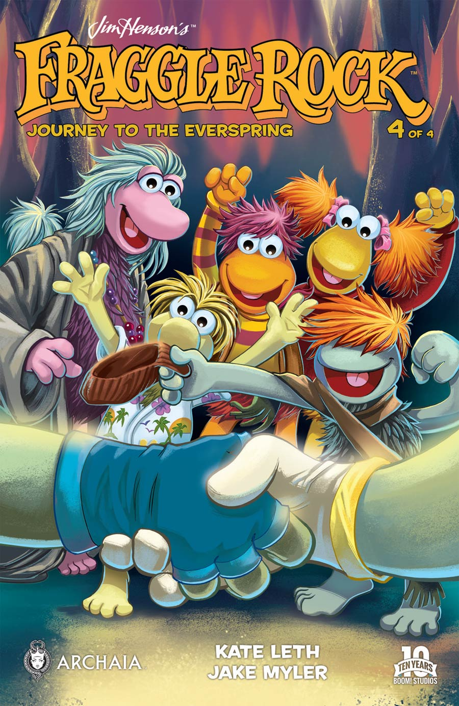 Fraggle Rock Journey To The Everspring #4