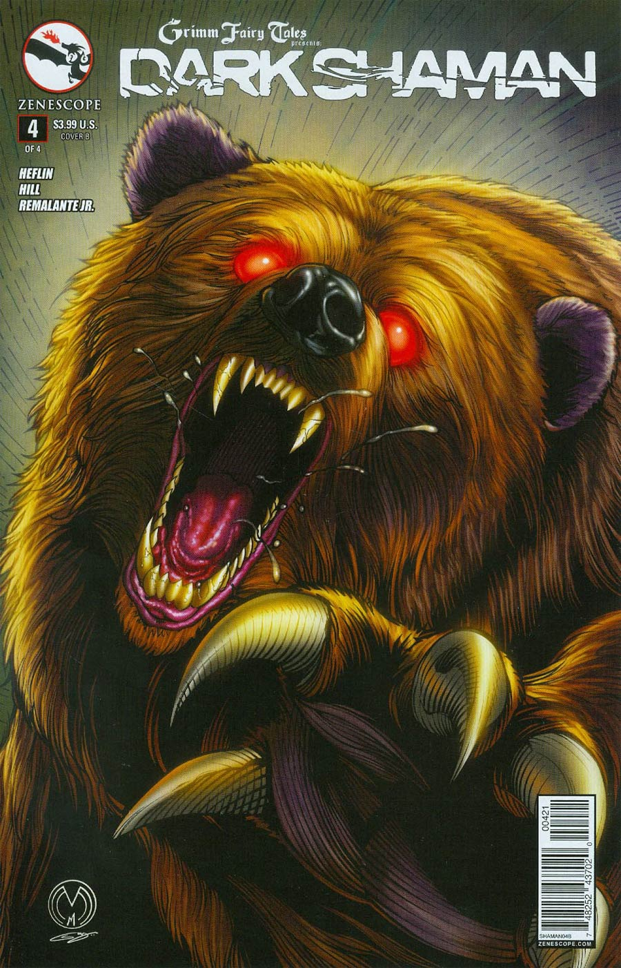 Grimm Fairy Tales Presents Dark Shaman #4 Cover B Marat Mychaels & Sanju Nivangune