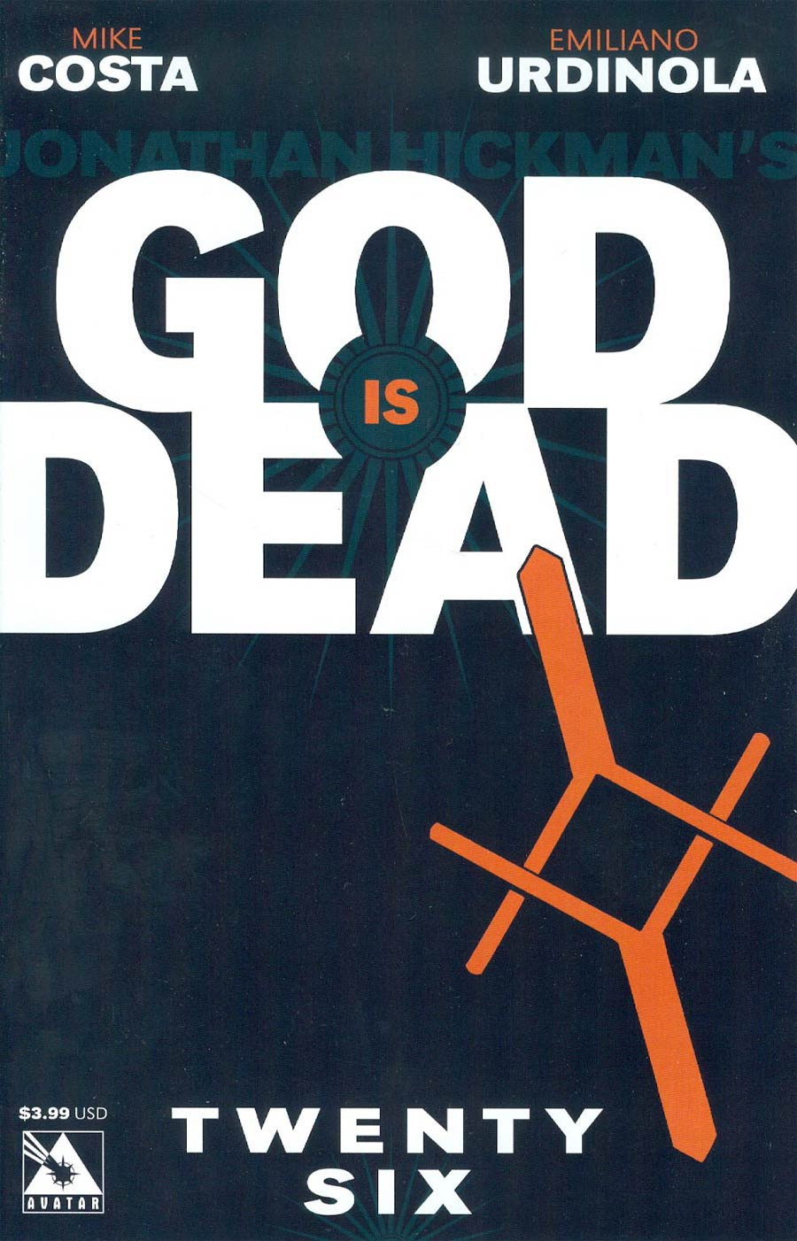 God Is Dead #26 Cover A Regular Cover