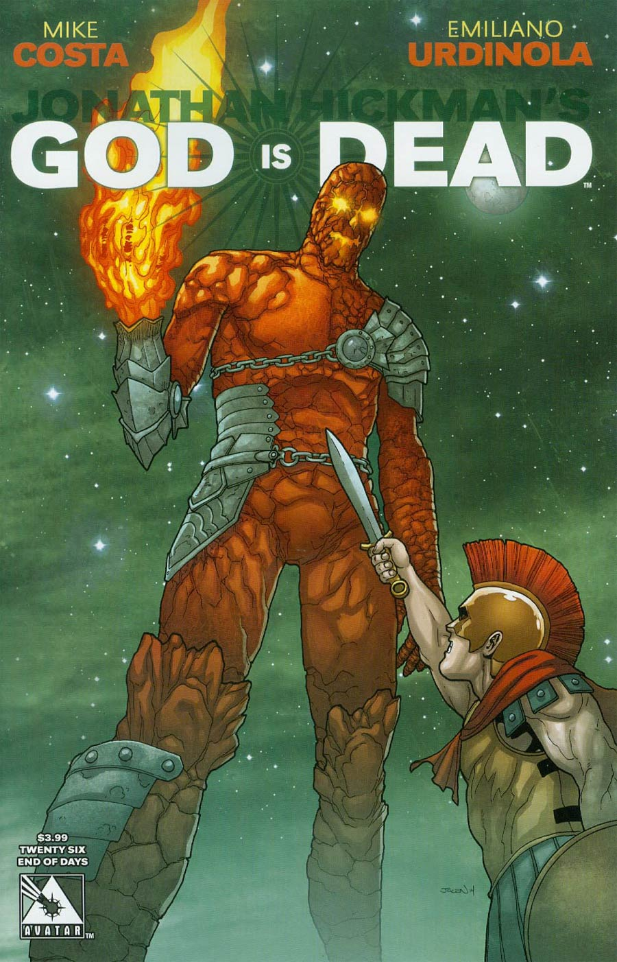 God Is Dead #26 Cover D End Of Days Cover