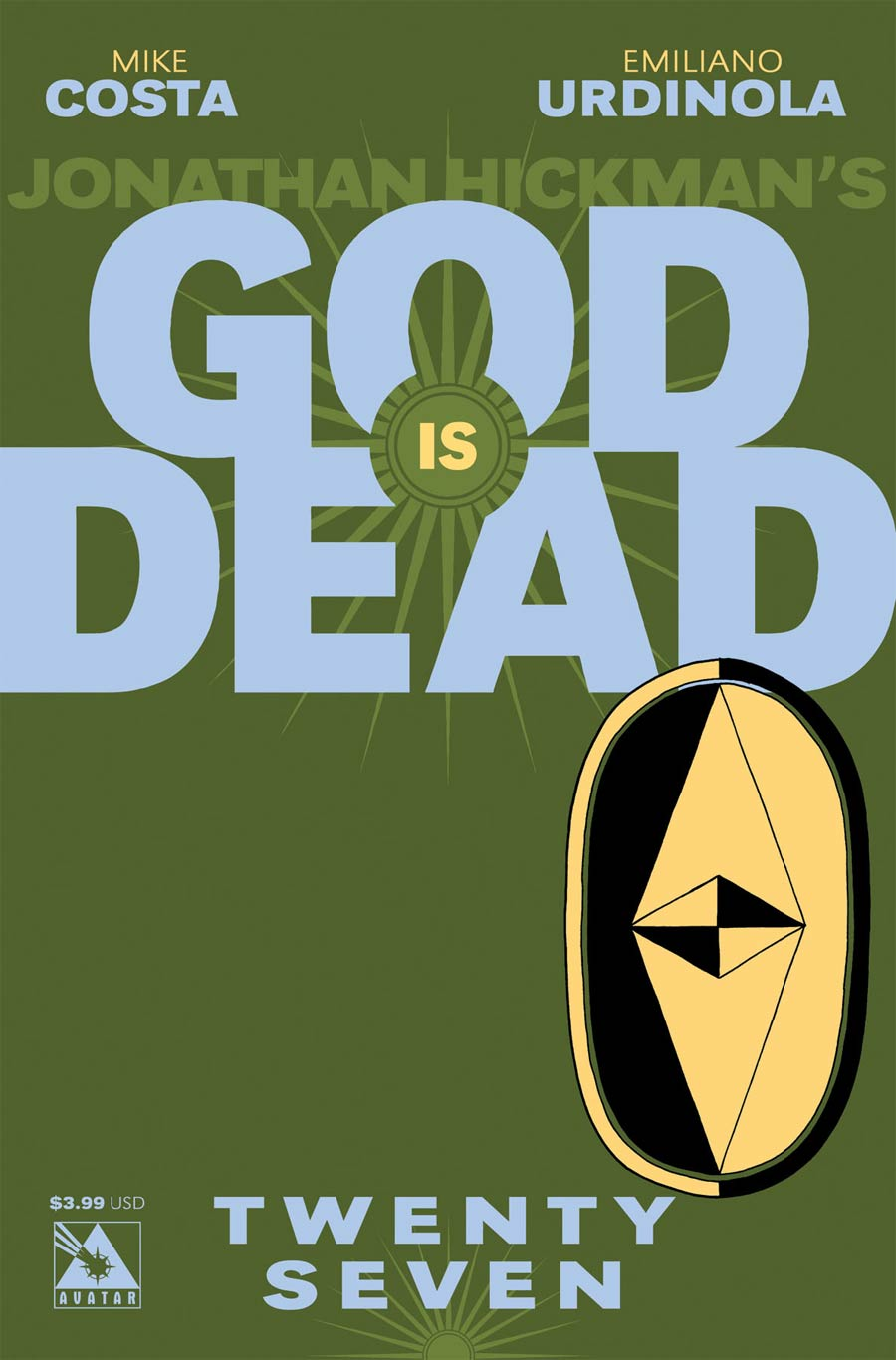 God Is Dead #27 Cover A Regular Cover