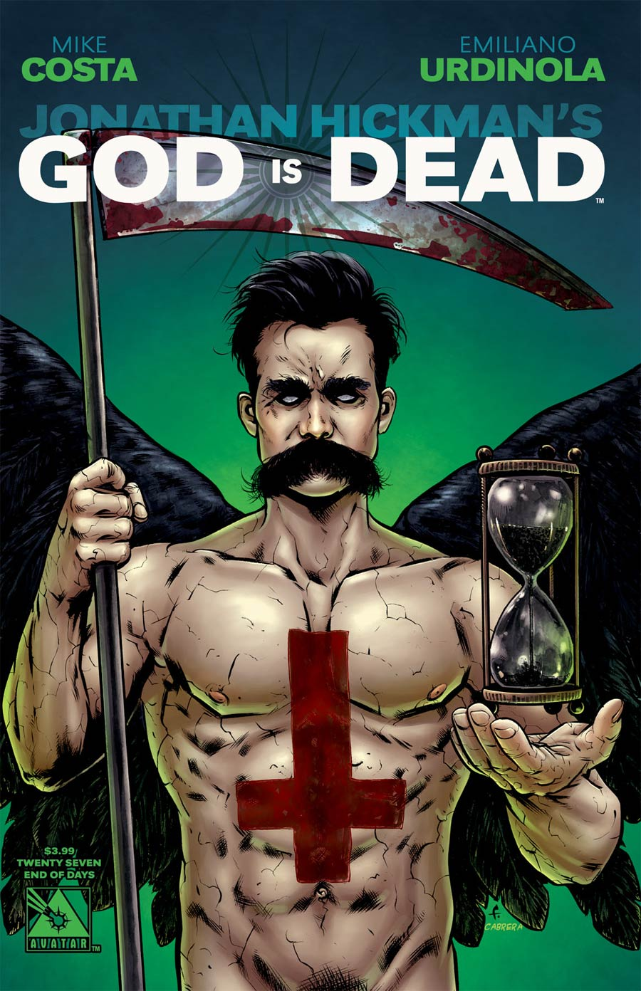 God Is Dead #27 Cover D End Of Days Cover