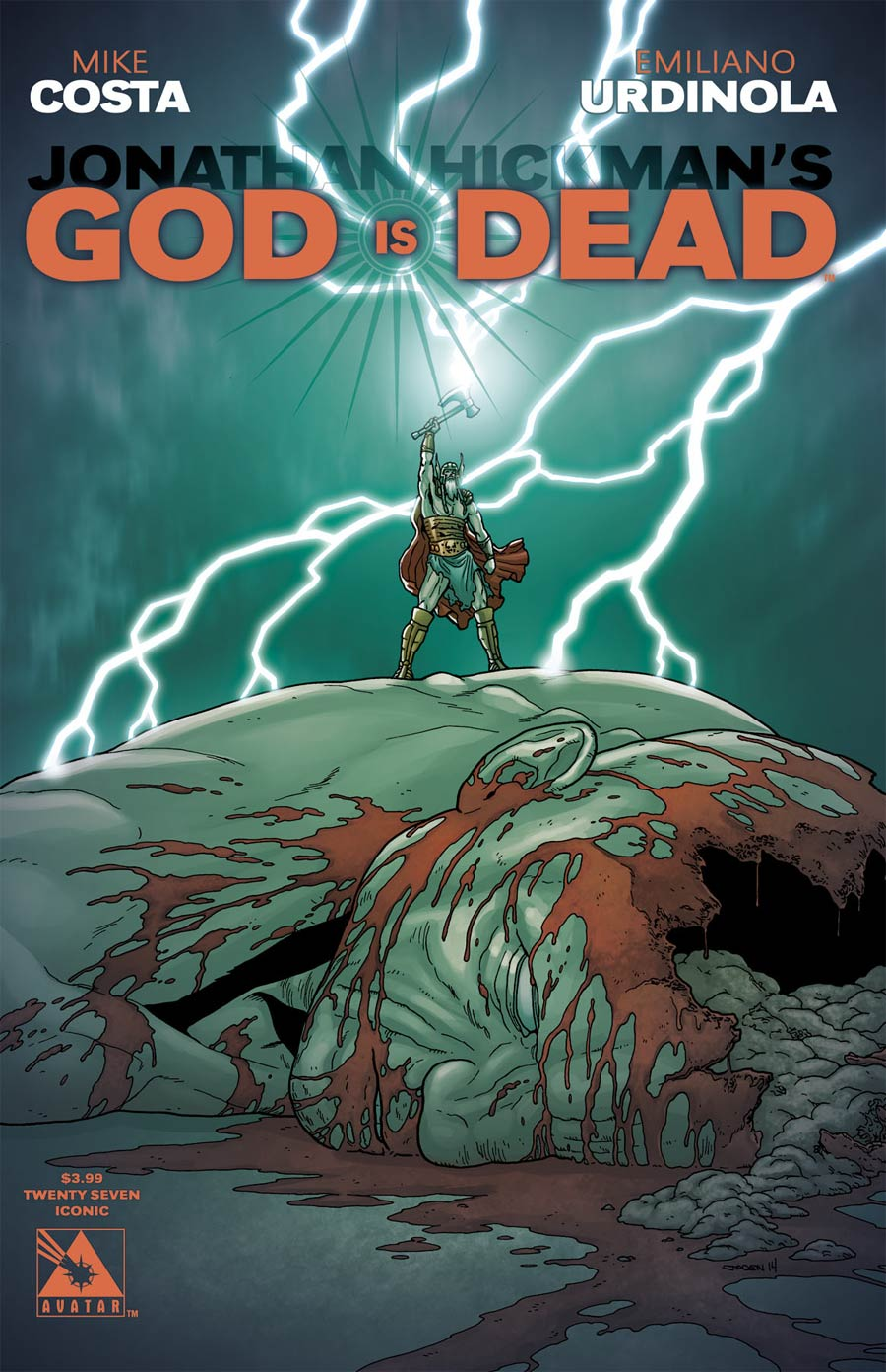 God Is Dead #27 Cover E Iconic Cover