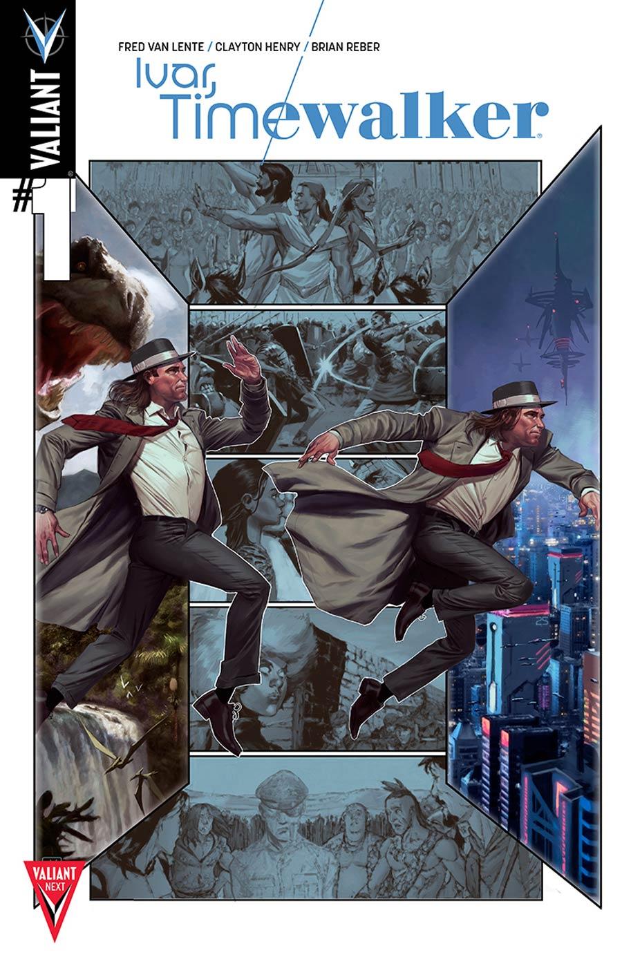 Ivar Timewalker #1 Cover B Variant Jorge Molina Cover